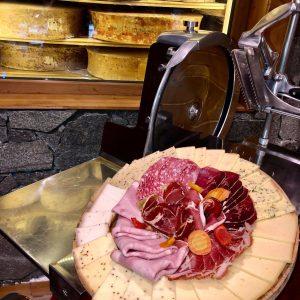 Raclette gastronomique valloire